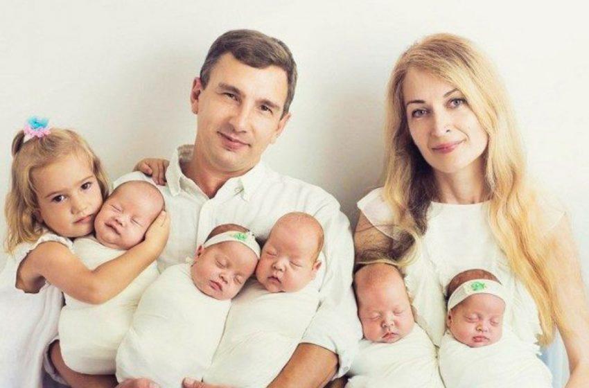 «Они одинаковые!»: как выглядят сейчас единственные в Украине пятерняшки