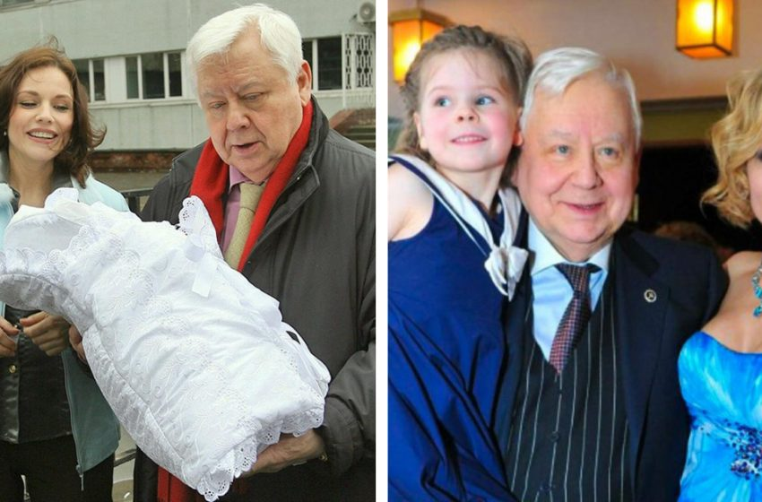 Как выглядит младшая дочь Олега Табакова и Марины Зудиной, которой уже исполнилось 14 лет