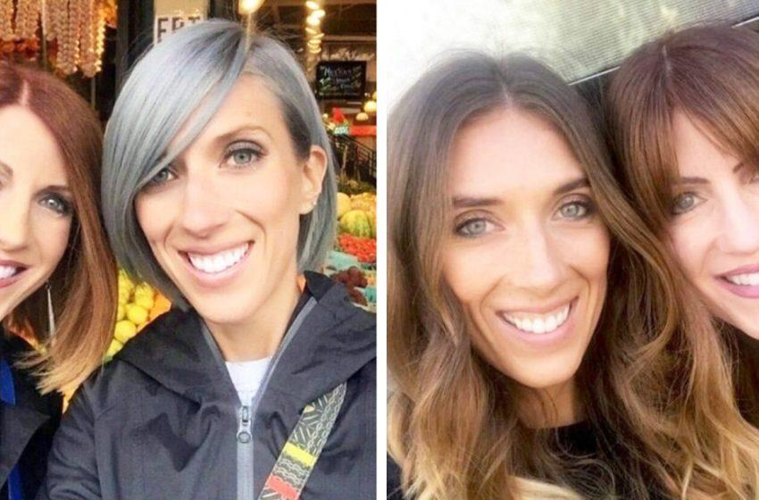 «Где вы взяли молодильных яблок?»: В Сети обсуждают фотографии матери и дочери, которые выглядят как сестры